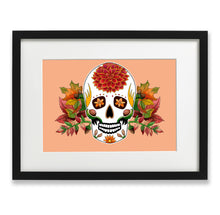 Load image into Gallery viewer, mexican sugar skull wall art