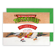 Load image into Gallery viewer, Teenage Mutant Ninja Turtle Doves Christmas Card