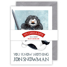 Load image into Gallery viewer, Jon Snowman Christmas Card