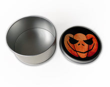 Load image into Gallery viewer, trick or treat halloween candy storage tin