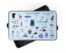Load image into Gallery viewer, scottish gifts metal storage tin