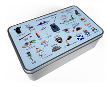 Load image into Gallery viewer, Scotland gift idea storage tin