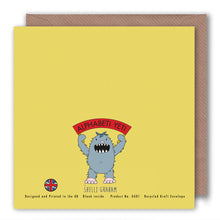 Load image into Gallery viewer, G is for Goldilocks and the Three Bears - Alphabet Greeting Card