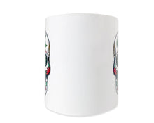 Load image into Gallery viewer, Christmas Sugar Skull Mug