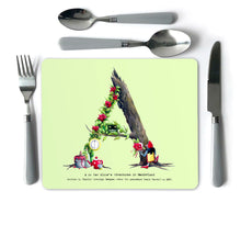 Load image into Gallery viewer, Fairy Tale Alphabet Placemats