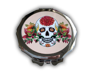 autumn birthday sugar skull gift idea