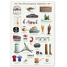 Load image into Gallery viewer, the birmingham alphabet retirement gift for women