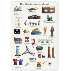 the birmingham alphabet retirement gift for women