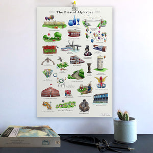 the bristol alphabet wall art alphabet learning chart