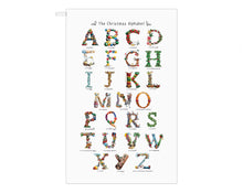 Load image into Gallery viewer, christmas tea towel family gift idea