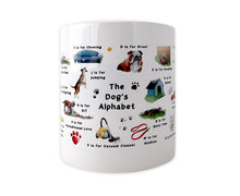 Load image into Gallery viewer, The Dog's Alphabet Mug