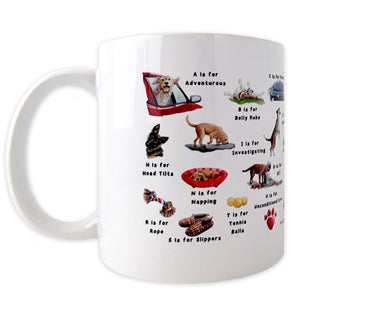 the dogs alphabet dog gift idea for him