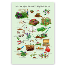 Load image into Gallery viewer, Gardening gift idea for him The Gardners Alphabet