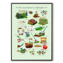 Load image into Gallery viewer, gardening gift idea for her The Gardeners Alphabet
