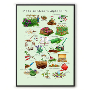 gardening gift idea for her The Gardeners Alphabet