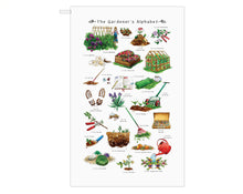 Load image into Gallery viewer, The Gardener's Alphabet Tea Towel Gift Idea