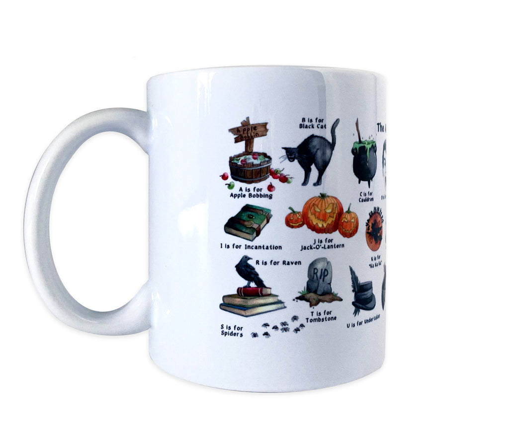 gothic gift idea for her halloween coffee mug