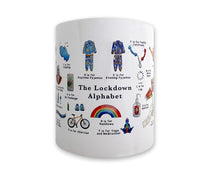 Load image into Gallery viewer, the lockdown alphabet gift idea for her 2020