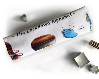 the lockdown alphabet isolation gift idea for her