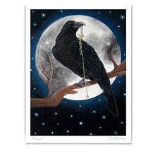 Load image into Gallery viewer, edgar allen poe the raven wall art