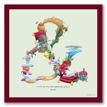 Load image into Gallery viewer, wall art alphabet letter &