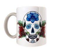 Load image into Gallery viewer, day of the dead coffee mug gift idea for her