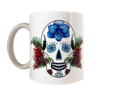 day of the dead coffee mug gift idea for her