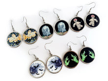 Load image into Gallery viewer, Creepy Drop Earrings - 5 Designs to Choose From