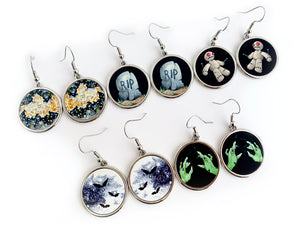 Creepy Drop Earrings - 5 Designs to Choose From
