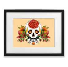 Load image into Gallery viewer, day of the dead skull decor