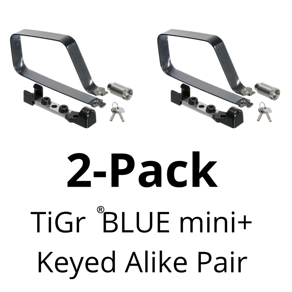 TiGr BLUE mini+ 2-pack