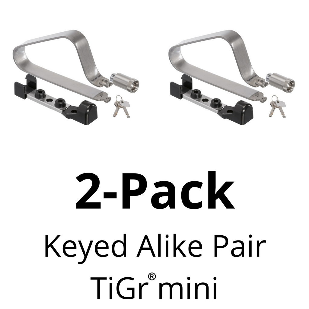 TiGr mini keyed alike pair