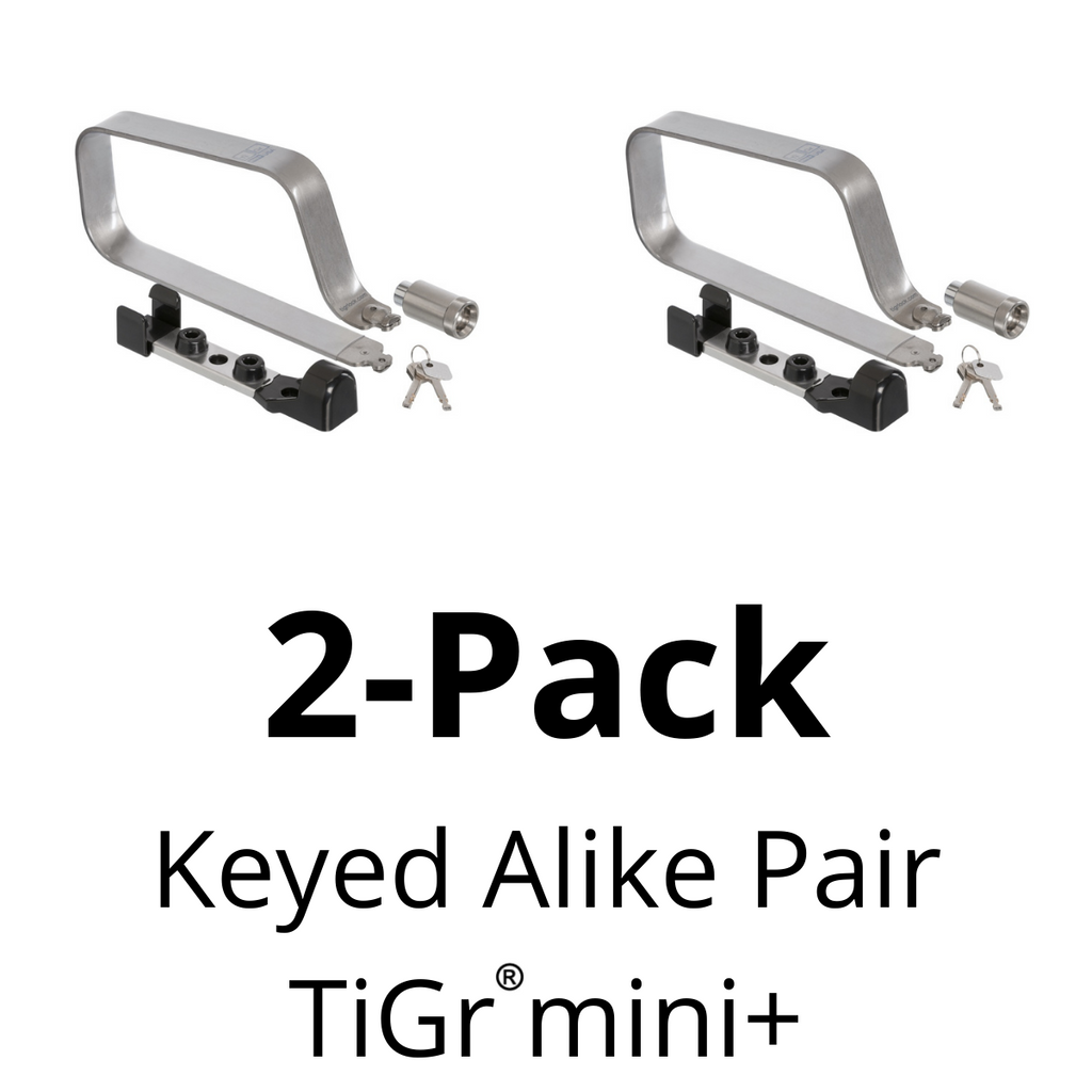 TiGr mini+ Keyed alike Pair