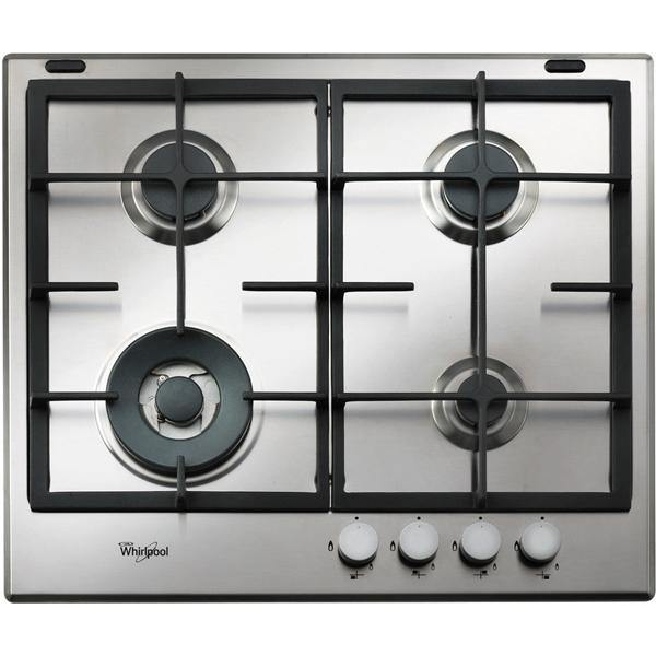 Whirlpool GMA6422IX Absolute Four Burner Gas Hob In Stainless Steel