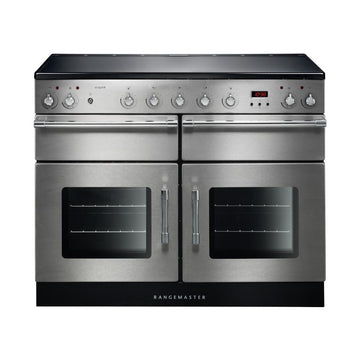 Rangemaster ESP110EISS/C Esprit Stainless Steel with Chrome Trim 110cm Electric Range Cooker