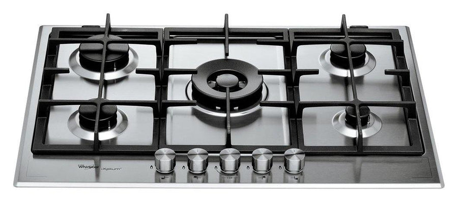 Whirlpool GMF7522IXL Fusion Built-In Gas Stainless Steel Hob