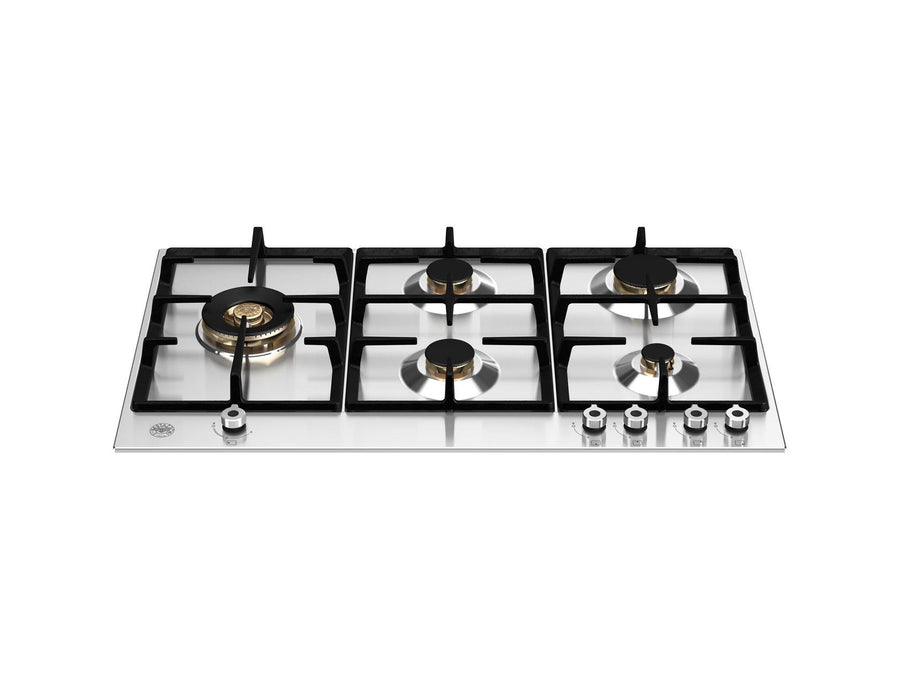 Bertazzoni P905LPROX - 90cm Gas hob With Lateral Dual Wok
