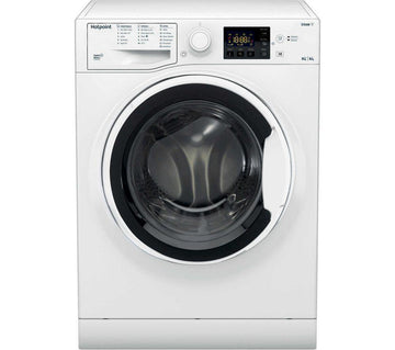 Hotpoint RDG8643WWUKN 8 kg /6 kg Washer Dryer In White - A Rated