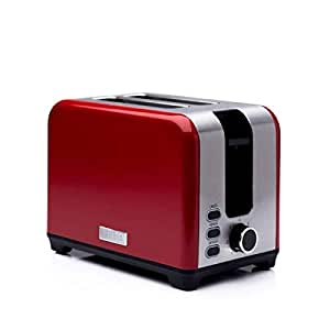 Haden 2 Slot Toaster in Red