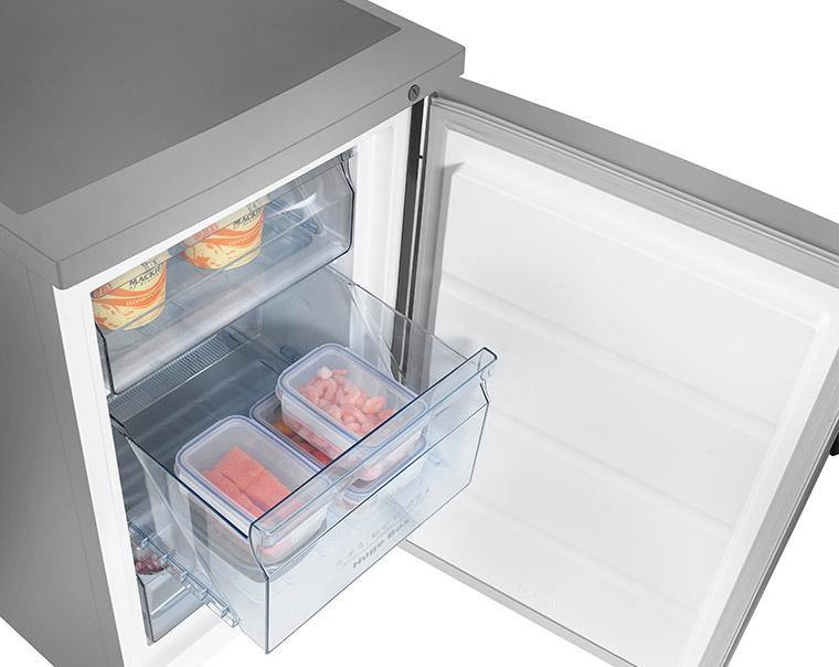 Hisense FV105D4BC21 Under Counter Freezer - Stainless Steel Effect