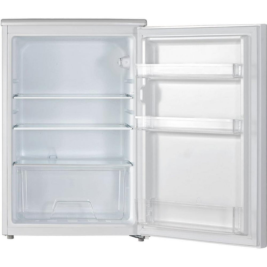 LEC L5517W 55cm undercounter larder fridge in white