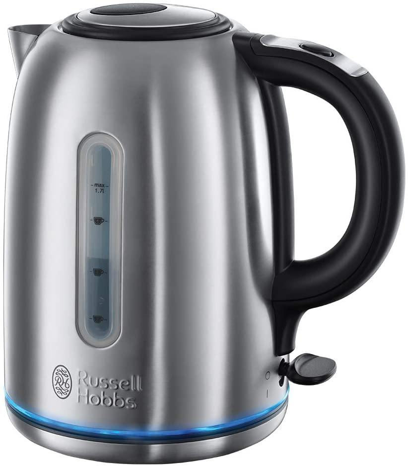 Russell Hobbs 20460 Quiet Boil Kettle, Brushed Stainless Steel