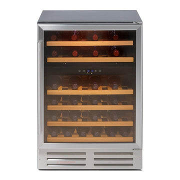 LEC 600WC integrated 60cm wine cooler
