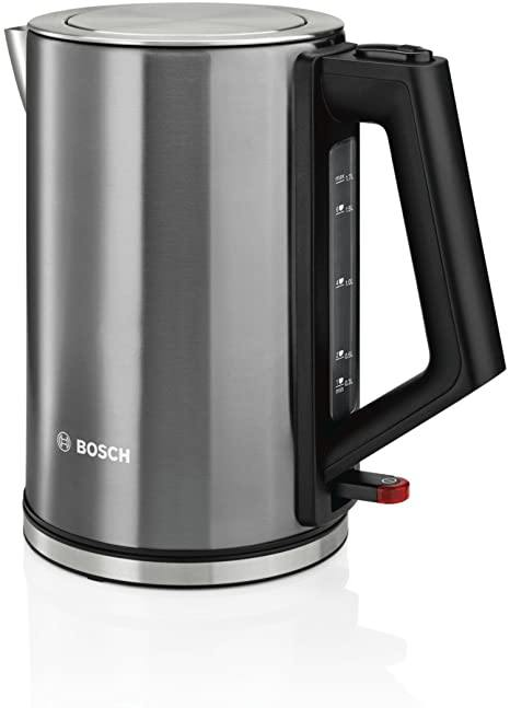 Bosch TWK7105GB Cordless Kettle, 1.7 Litre, 3000 W In Anthracite