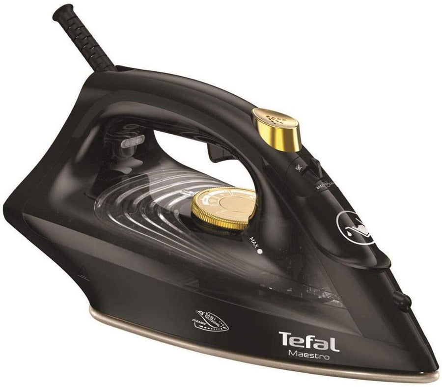 TEFAL FV1869 Maestro Steam Iron In Gold/Black