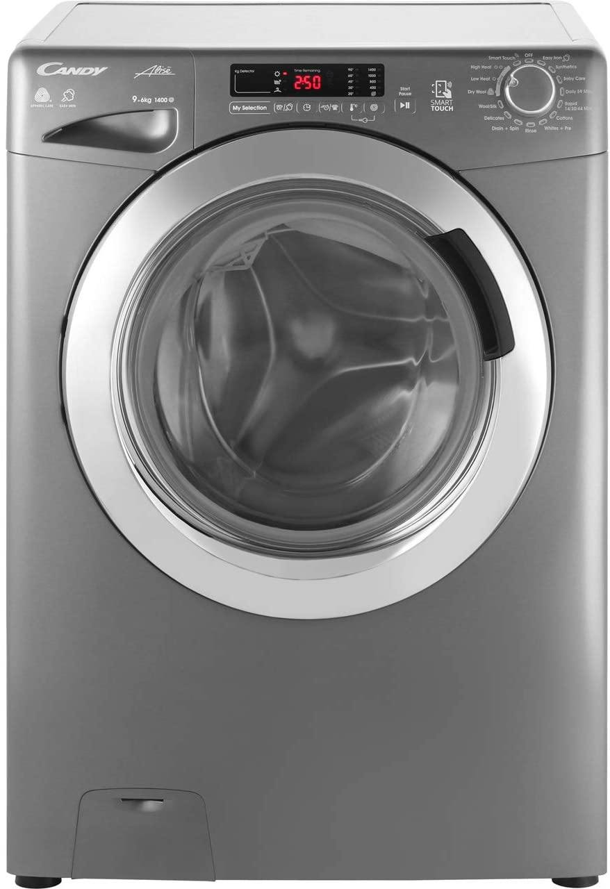 Candy GVSW496DCR 9kg/6kg Washer Dryer 1400 rpm - Graphite - A Rated