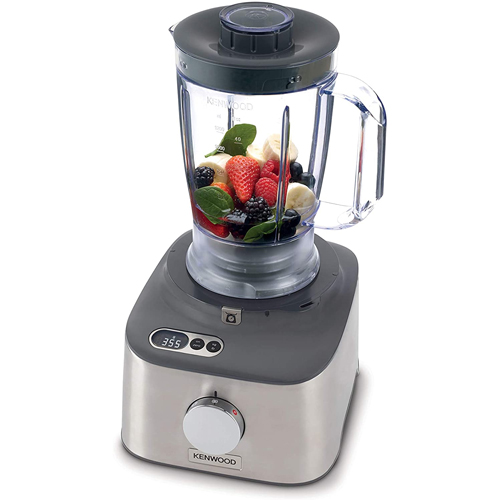 Kenwood Multipro Compact+ FDM312 SS, 5-in-1 Compact Food Processor, Stainless Steel, 2.1 L Capacity