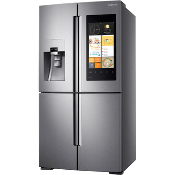 Sansung RF56M9540SR Family Hub American-Style Smart Fridge Freezer - Real Stainless