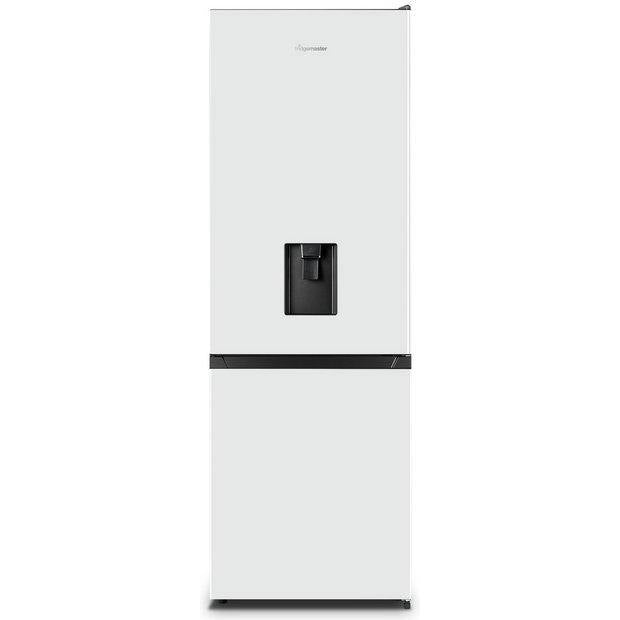 Fridgemaster MC60287D 70/30 Frost Free Fridge Freezer In White - A+ Rated