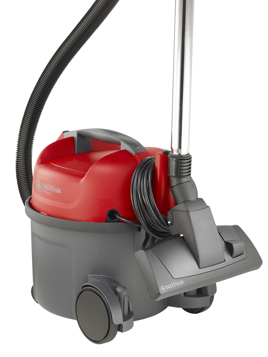 Nilfisk THOR Bagged Vacuum Cleaner - Red